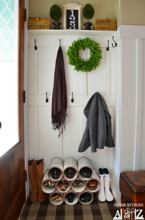 shoe-organizer-from-pvc-pipe